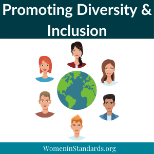 Graphic promoting diversity and Inclusion
