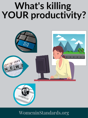 Graphic of overworked worker