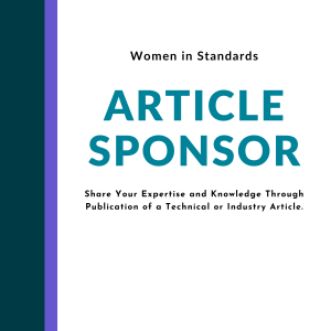 Article sponsor, Share Your Expertise and Knowledge Through Publication of a Technical or Industry Article.
