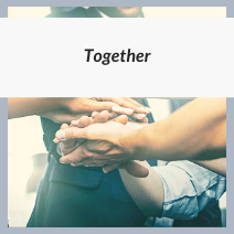 """Image with word """"together"""""""