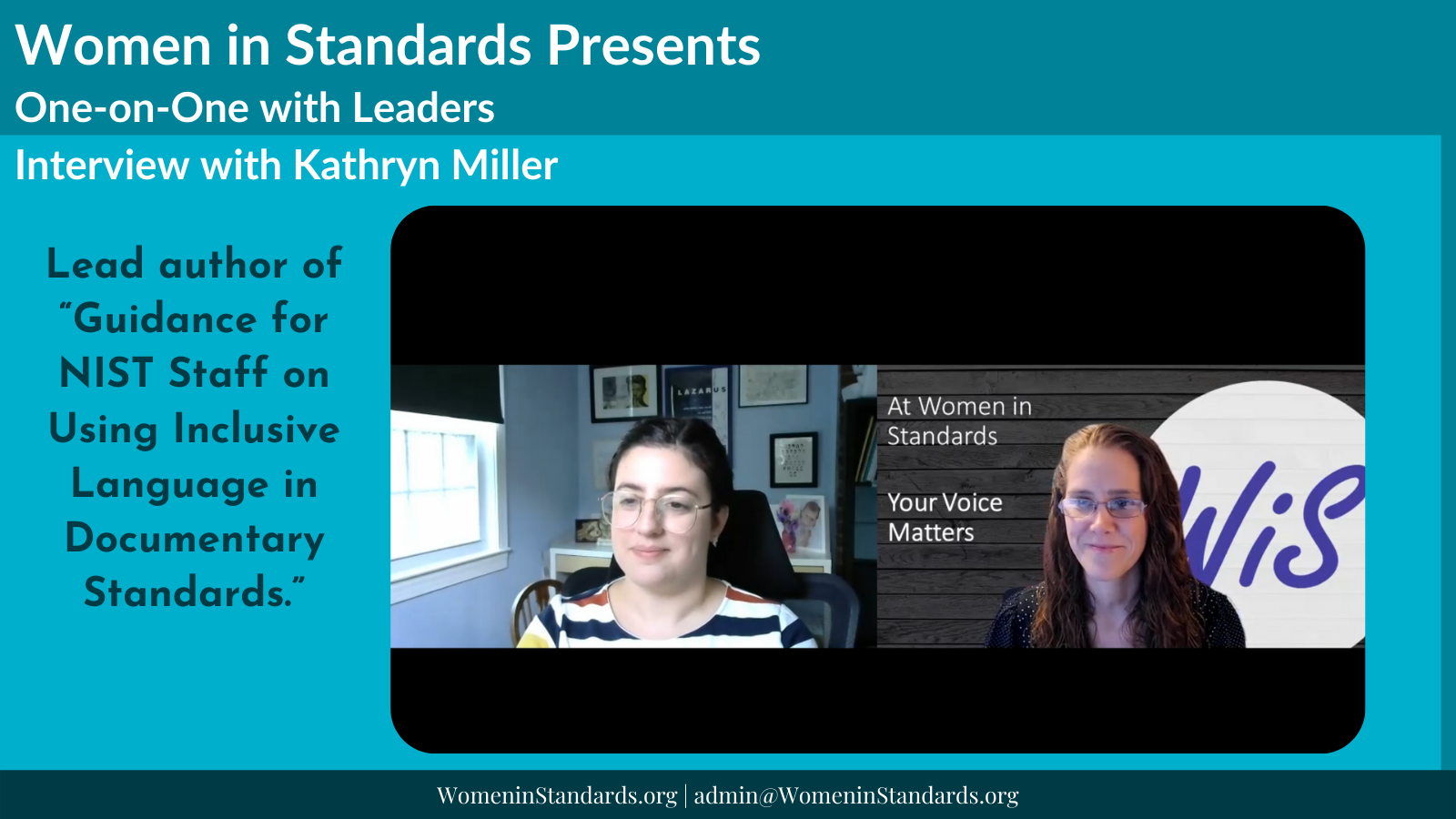 Interview with Kathryn Miller
