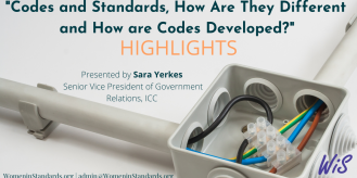 Highlights from Codes and Standards