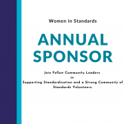 Annual Sponsorship, Join Fellow Community Leaders in Supporting Standardization and a Strong Community of Standards Volunteers.