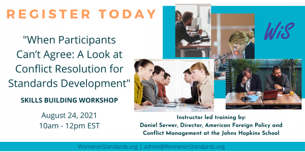 Virtual Workshop on Conflict Management