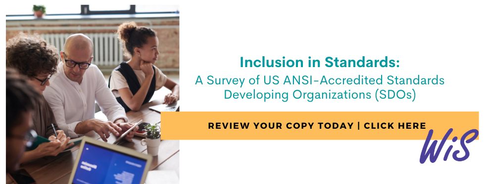 Ad for Inclusion in Standards Survey
