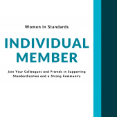 Individual member, join your colleagues and friends in supporting standardization and a strong community