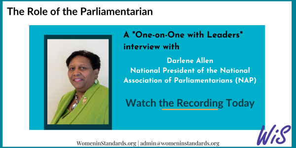 Interview with a parliamentarian, Darlene Allan, National President of the NAP