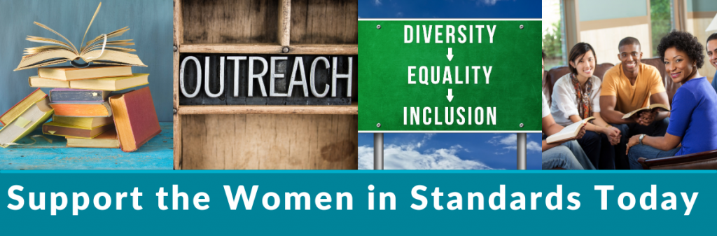 Support the Women in Standards Today, become a Women in Standards Sponsor