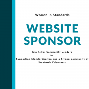 Website sponsor, Join Fellow Community Leaders in Supporting Standardization and a Strong Community of Standards Volunteers.