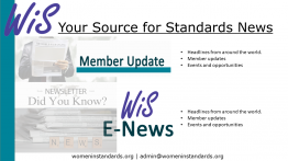 Image WiS newsletter and Enews