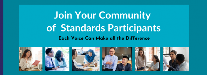 Join Your Community of Standards Participants